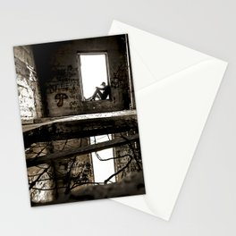 holes in the floor Stationery Cards