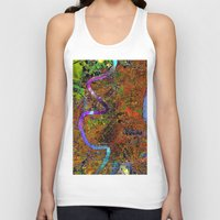 new orleans Tank Tops featuring new orleans by donphil