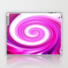 Pink Swirl Laptop & iPad Skin