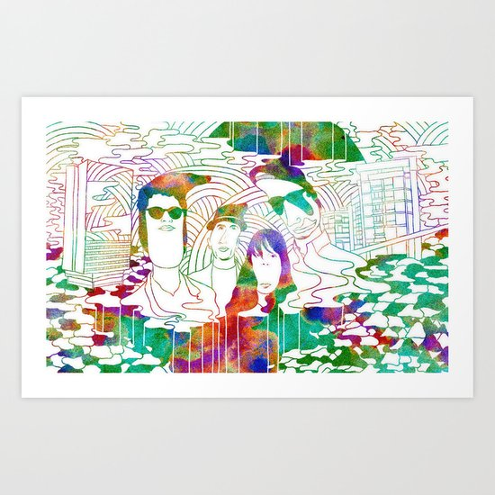 """Bosnian Rainbows"" by Steven Fiche Art Print"