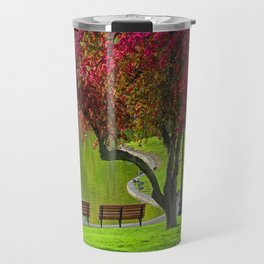 The park  Travel Mug