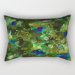 Peacock Gamma Rectangular Pillow
