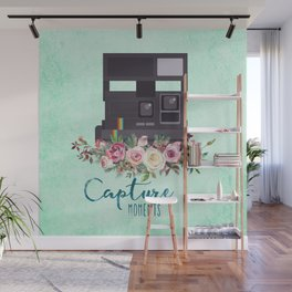 Capture moments #3 Wall Mural