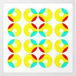 Circling on by.. Art Print