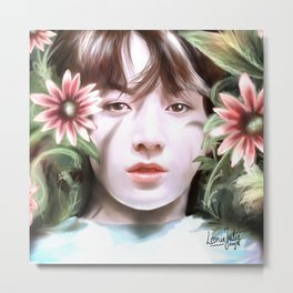 BTS - Flower Boy Metal Print