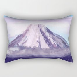 Dreaming Of The Mountain Rectangular Pillow