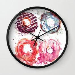 Donuts love Wall Clock