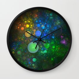 Bubble Bath Wall Clock