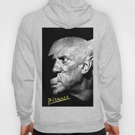 Pablo Picasso Cubism Collage Hoody
