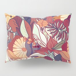 love of autumn - floral pattern Pillow Sham