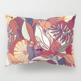 love of autumn - floral pattern Pillow Sham