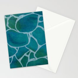 Foam on Moving Water Stationery Cards