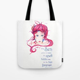 Mermaid Spell Tote Bag