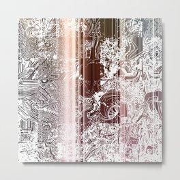 THE A LIST Metal Print