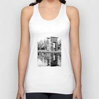 madrid Tank Tops featuring Madrid reflections by PabloEgM