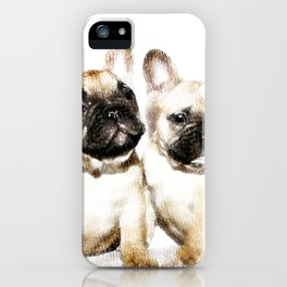 French Bulldogs iPhone Case