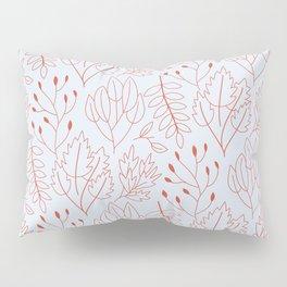Plant leaf pattern Pillow Sham