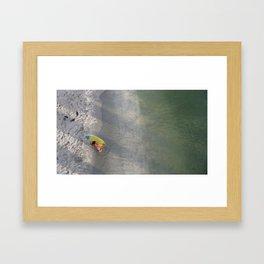 The World Below Framed Art Print