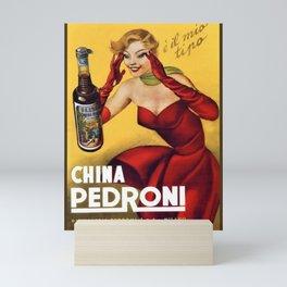 Vintage China Pedroni Advertising Wall Art Mini Art Print