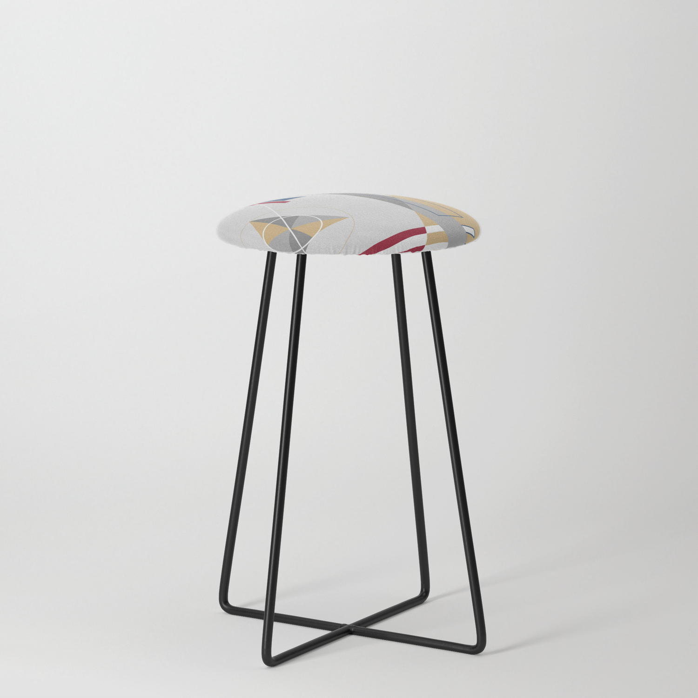 Bauhaus Counter Stool By Wasistkunst