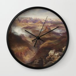 Thomas Moran - Grand Canyon of the Colorado River Wall Clock