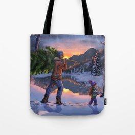 Winter's Magic Tote Bag