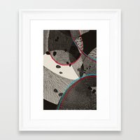 dance Framed Art Prints featuring Dance by Julia Tomova
