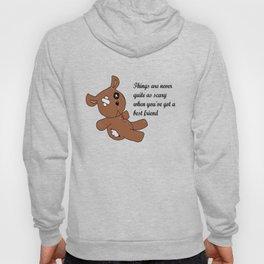 My Best Friend Bear Hoody