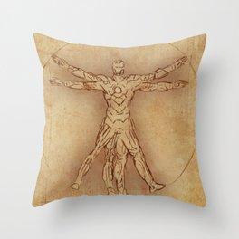 Iruvian Man Throw Pillow