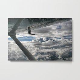 Cessna Skies Metal Print