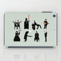 men iPad Cases featuring Men in Black by Eric Fan