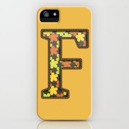 """The Letter """"F"""" iPhone Case"""