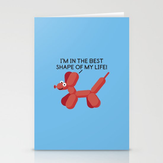 Inflated Ego Stationery Cards