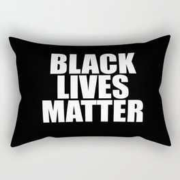 Black Lives Rectangular Pillow