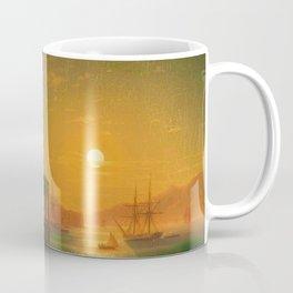 Constantinople Sunset by Ivan Aivazovsky Coffee Mug
