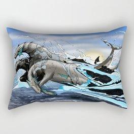 Hippocampi Rectangular Pillow
