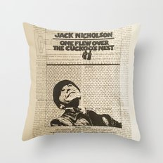 One Flew Over The Cuckoo's Nest Throw Pillow