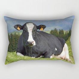 Cow portrait Rectangular Pillow