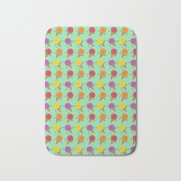 Roses are Rainbow Sorbet Bath Mat
