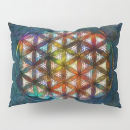The Flower of Life Symbol Pillow Sham