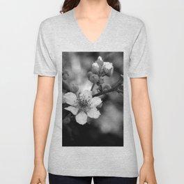 Blackberry Flower Unisex V-Neck