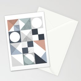 Modern Geometric 20 Stationery Cards