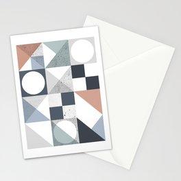 Modern Geometric 20 Stationery Cards