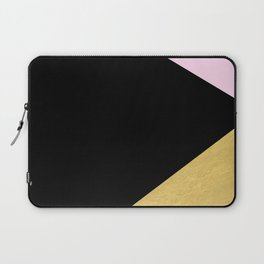 Color Block Glam Triangles Laptop Sleeve