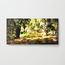 Flooded Plains Metal Print