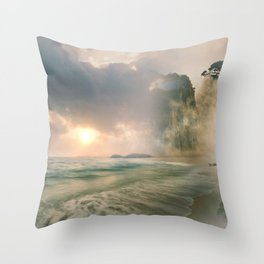 Dream Destination Throw Pillow