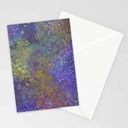 Abstract Watercolor #3 Stationery Cards