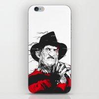 freddy krueger iPhone & iPod Skins featuring Freddy by Akyanyme
