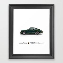 Porsche 1967 Irish Green 912 Framed Art Print