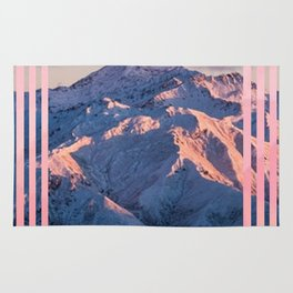 mountain stripes Rug